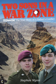 Click for a large cover of TWO SONS IN A WAR ZONE.